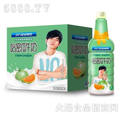 三九企业集团哈密瓜牛奶1.5lx6瓶