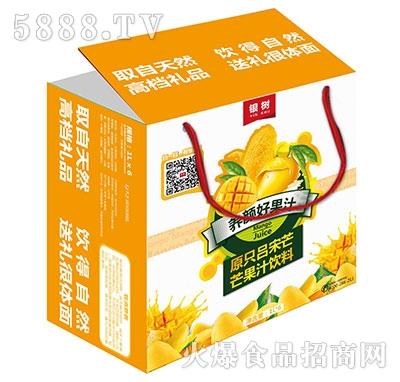 1Lx6银树原只吕宋芒果汁礼盒