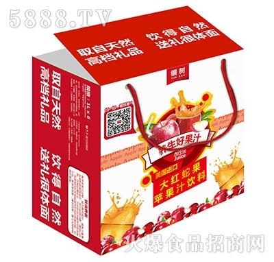 1Lx6银树大红蛇果苹果汁礼盒