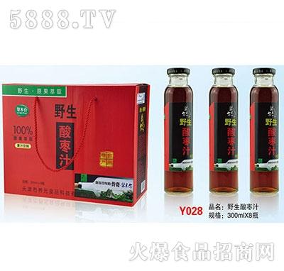 野生酸枣汁300mlx8瓶