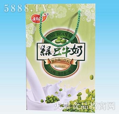 禾和露绿豆牛奶手提袋