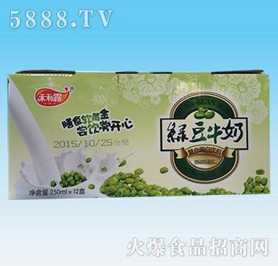 禾和露绿豆牛奶250mlx12盒