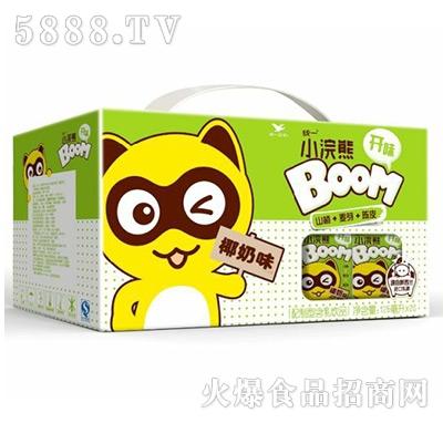 统一小浣熊椰奶味125mlx20盒