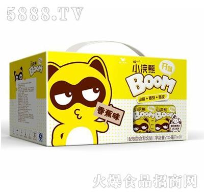 统一小浣熊香蕉味125mlx20盒