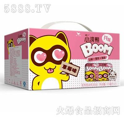 统一小浣熊草莓味125mlx20盒