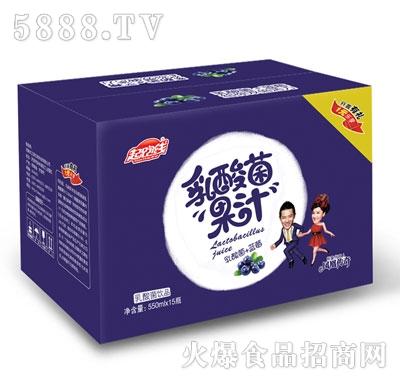起跑线乳酸菌+蓝莓果汁550mlx15瓶