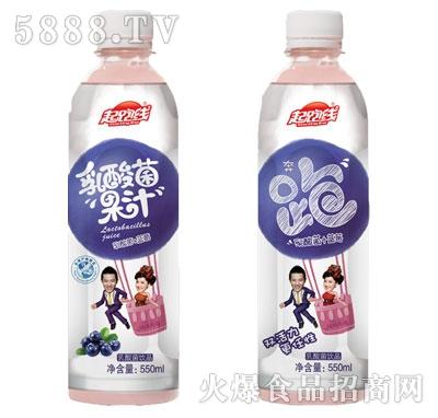 起跑线乳酸菌+蓝莓果汁550ml