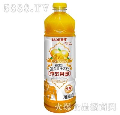 1.5L百事得泰式果园芒果汁
