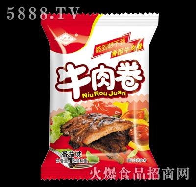 兴华牛肉卷番茄味散装称重