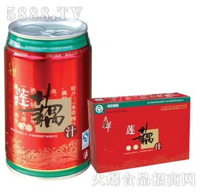 千�w精品�藕汁310ML24