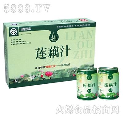 千�w清新�藕汁240ML24