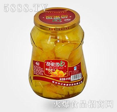 890克菠萝水果罐头