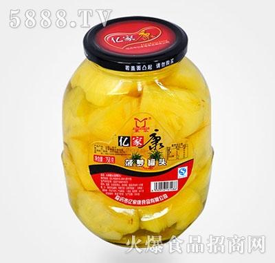 758克菠萝水果罐头