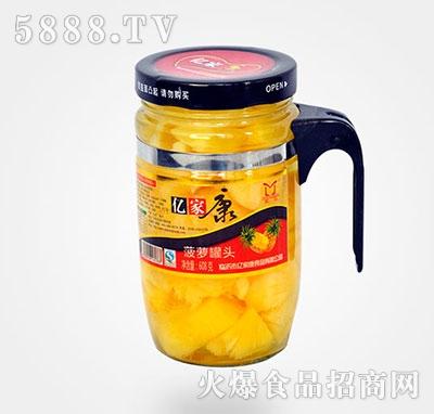 608克菠萝水果罐头