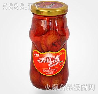 288克山楂水果罐头