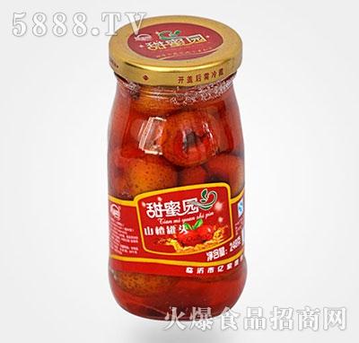 248克山楂水果罐头