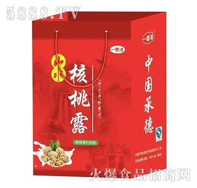 山水核桃露植物蛋白饮料礼盒(红)