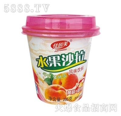 佳因美285克水果沙拉橘子+椰果味产品图