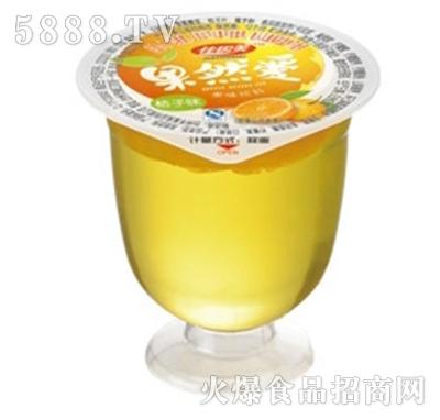 佳因美果然爱小酒杯果冻橘子味产品图