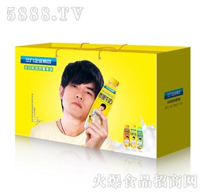 三九香蕉牛奶8X500ML礼盒装
