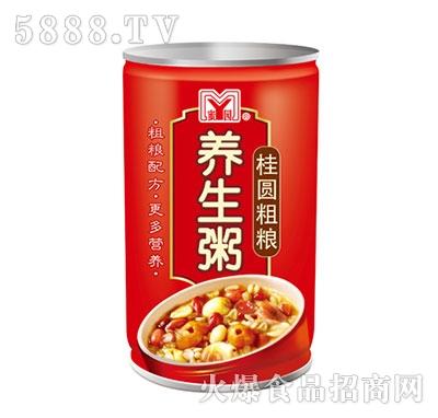 蜜园桂圆粗粮养生粥罐装