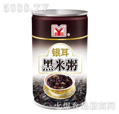 蜜园银耳黑米粥罐装