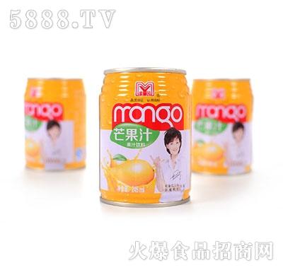 蜜园芒果果汁饮料245ml