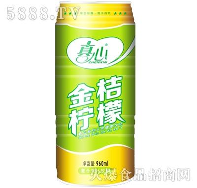 真心金桔柠檬果汁饮料960ml