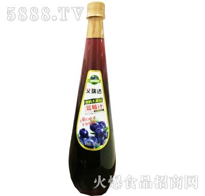 艾瑞达我的大果园蓝莓汁1058ml