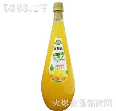 艾瑞达我的大果园芒果汁1688ml