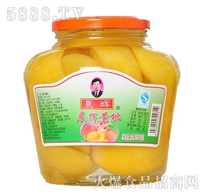 晨辉1250g黄桃罐头