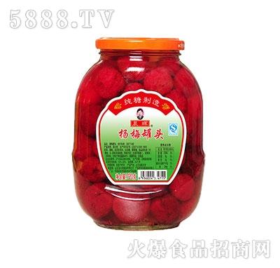 晨辉720杨梅罐头