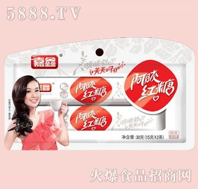 嘉鑫阿胶红糖袋装15gx2条