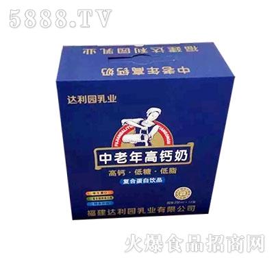 达利园乳业中老年高钙奶250nl箱装