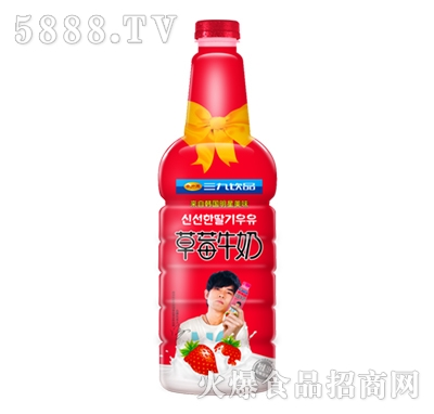 999草莓牛奶1.5升宴会装