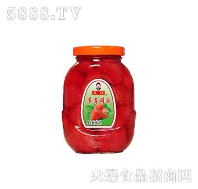 晨辉260g草莓罐头