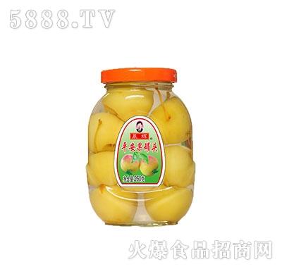 晨辉260平安果罐头