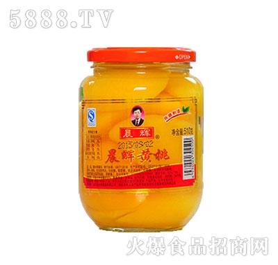 晨辉510g黄桃罐头
