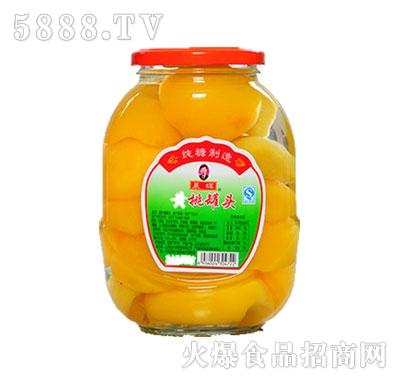 晨辉720g黄桃罐头