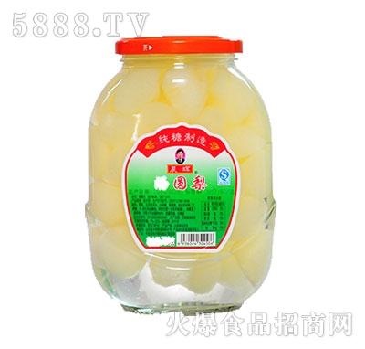晨辉720g梨球罐头