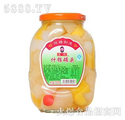 晨辉720g什锦罐头