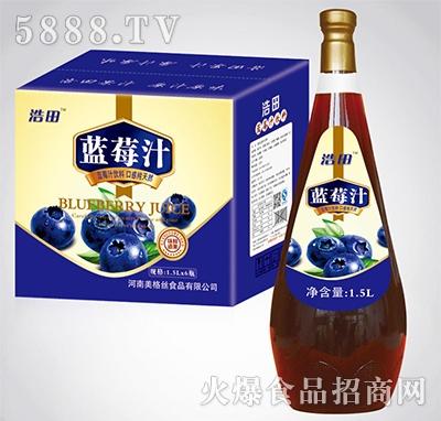 1.5lx6瓶浩田蓝莓汁