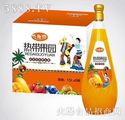 1.5lx6瓶心相印热带果园