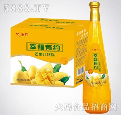 828mlx8瓶心相印幸福有约芒果汁