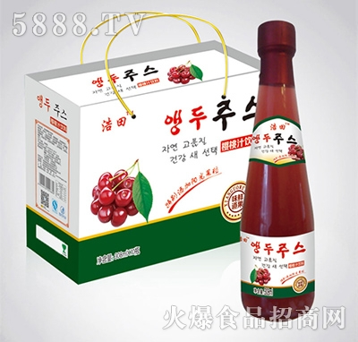 308mlx10瓶浩田樱桃汁