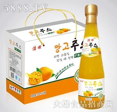 308mlx10瓶浩田芒果汁