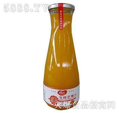真心生榨芒果汁1L