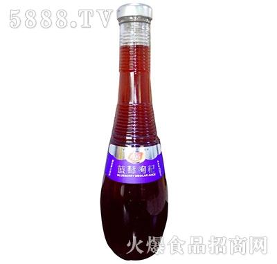 真心蓝莓枸杞果汁858ml