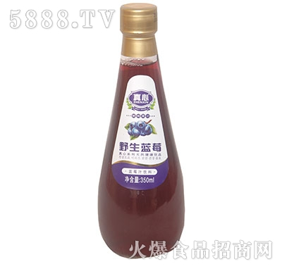 真心野生蓝莓果汁350ml