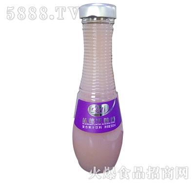 真心蓝莓乳酸菌饮料360ml